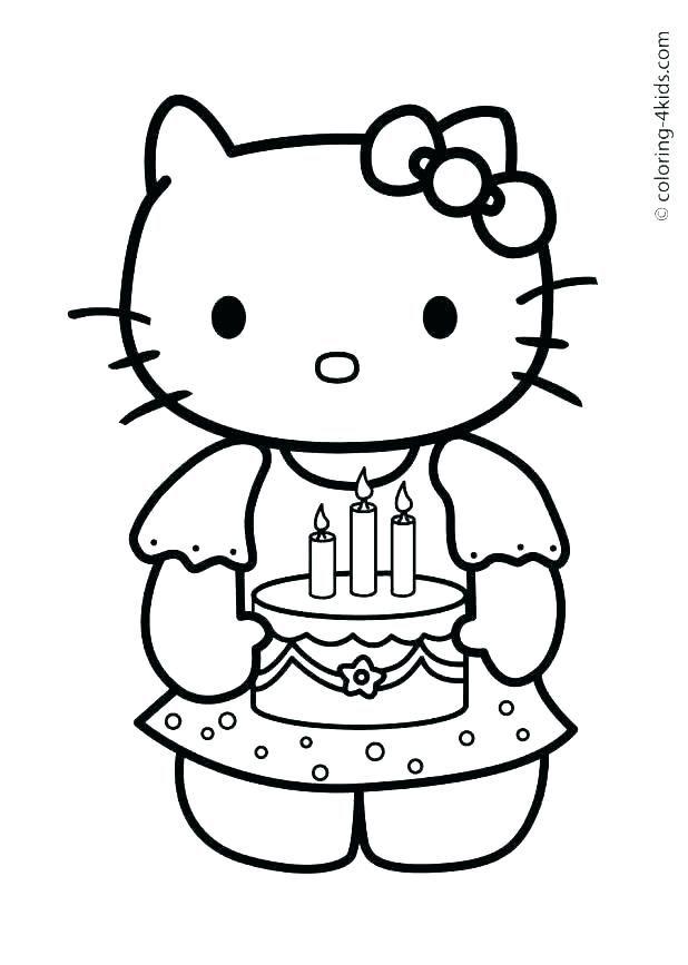 hola gatito princesa páginas para colorear princesa gatito páginas ...