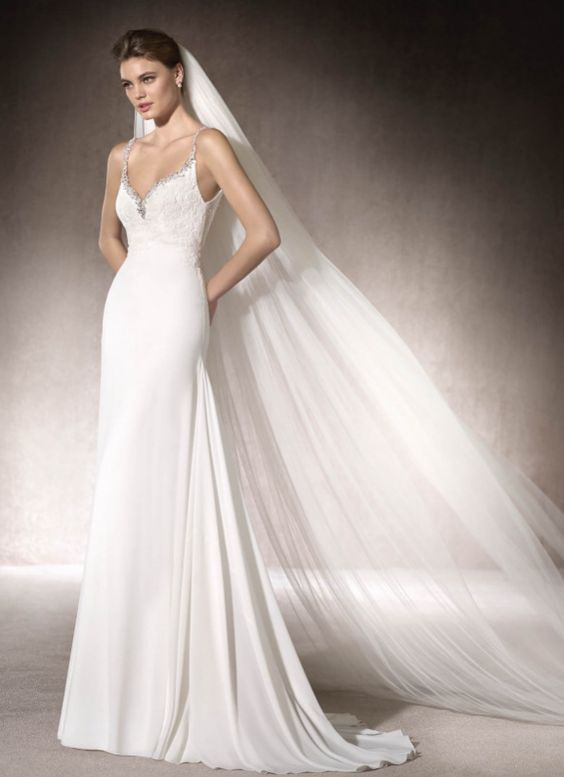 Featured Dress: St. Patrick; Wedding dress idea.