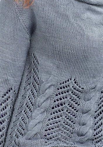 Seta - Mulberry Silk - Free pattern from Austermann