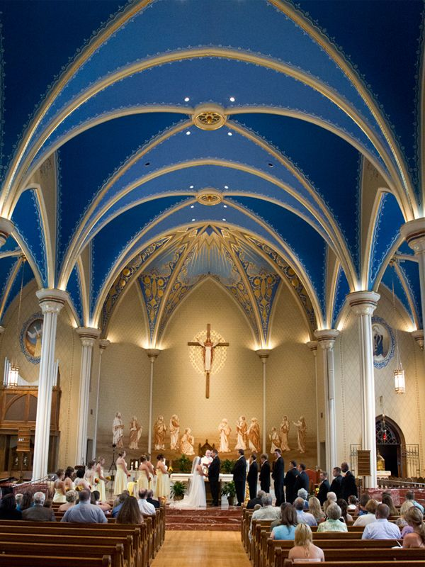Cathedral of st mary of the immaculate conception for Interior design lafayette la