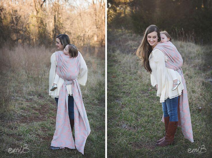 Toddler Wearing Session | Wrap poses | emiB Photography