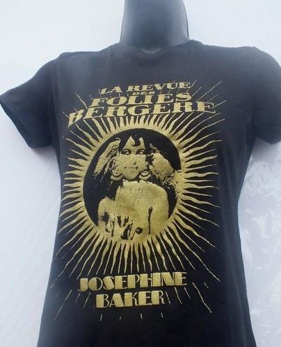 JOSEPHINE BAKER  T-SHIRT: Josephine Baker, Baker Tshirt, Baker T Shirts