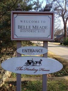 Our visit to Belle Meade Plantation