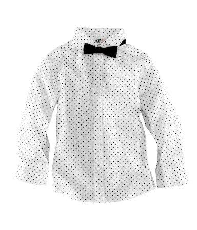 H & M Kids Polka Dot Shirt