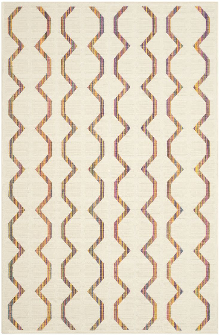 The allure of crisp Panama hats, creamy white linen suits, and vibrant tropical flowers is captured in Havana indoor-outdoor rugs. Power loomed of all-weather polypropylene, these graphic designs combine box stitch and loop pile for unique texture....