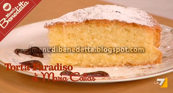 Torta Paradiso di Maria Callas