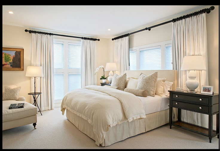 curtains master bedroom