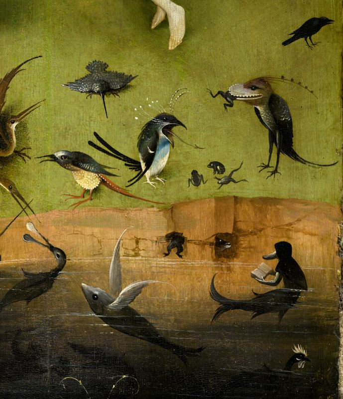17 best images about old masters flemish painting on for Bosch jardin des delices