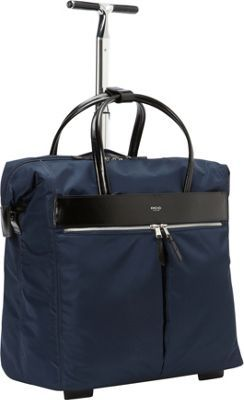 KNOMO London Sedley Rolling Laptop Bag Navy - via eBags.com!