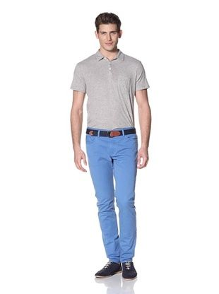 Vince Men's Colored Five Pocket Pants (Cote D'Azur)