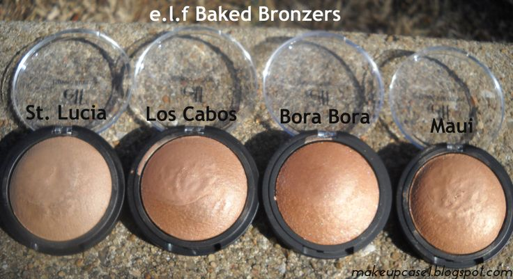 e.l.f Baked Bronzers
