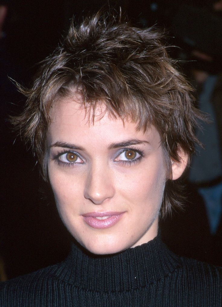 winona ryder short hairstyles