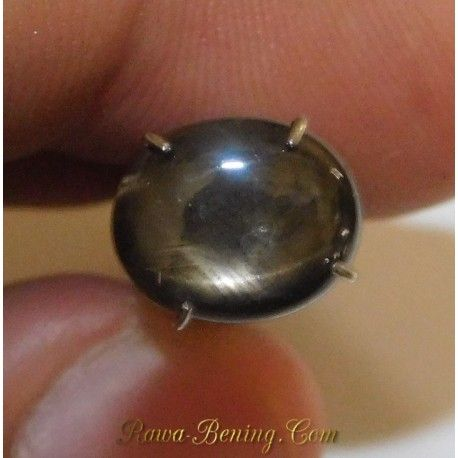 Natural Black Star Sapphire 2.20 Carat