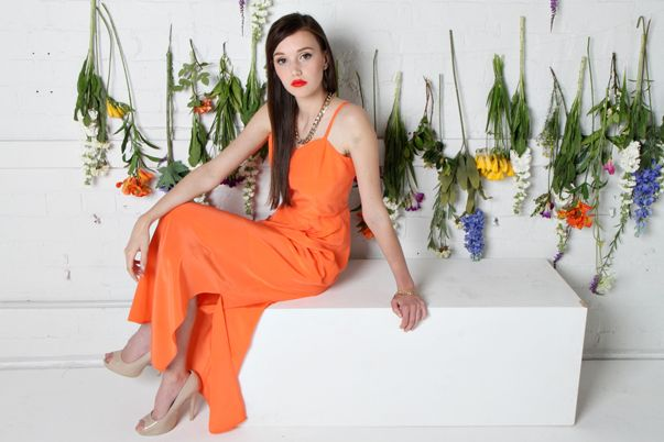 LIMITED EDITION DRESS COLLECTION | Amber Whitecliffe -Editorial Campaign