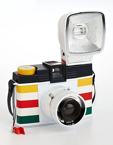 Old school Lomo camera with a little HBC stripe action!