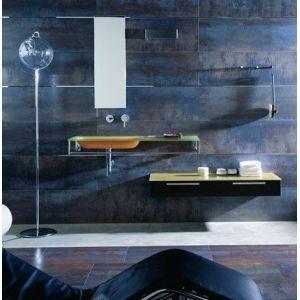 Piastrelle per rivestimento bagno e cucina effetto metallo porcelanosa serie ruggine