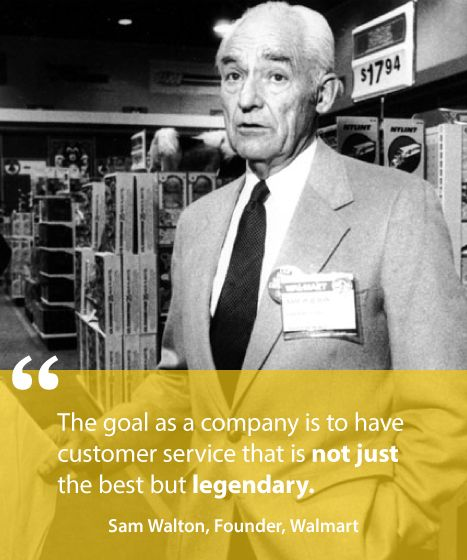 Famous Business Quotes Customer Service: 27 Best Quotes From Sam Walton Images On Pinterest