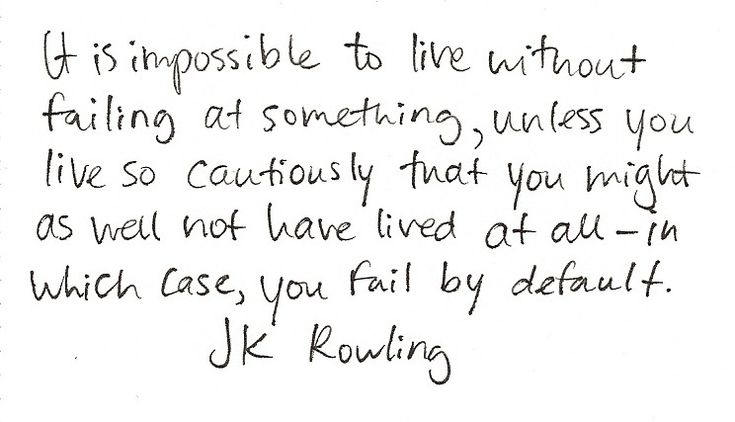 A little advice for todayLife, Inspiration, Fail, Jk Rowling, Wisdom, Rowling Quotes, J K, Harry Potter, Living