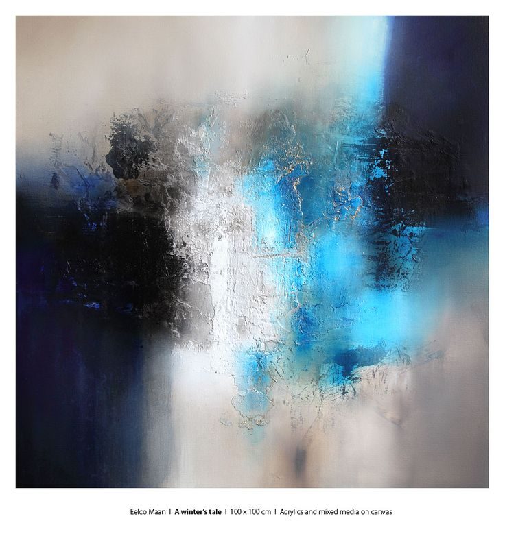 Eelco Maan, Winter's tale, 100 x 100 cm, Available for purchase at Studio Eelco Maan. Contact me on ejmaan@xs4all.nl