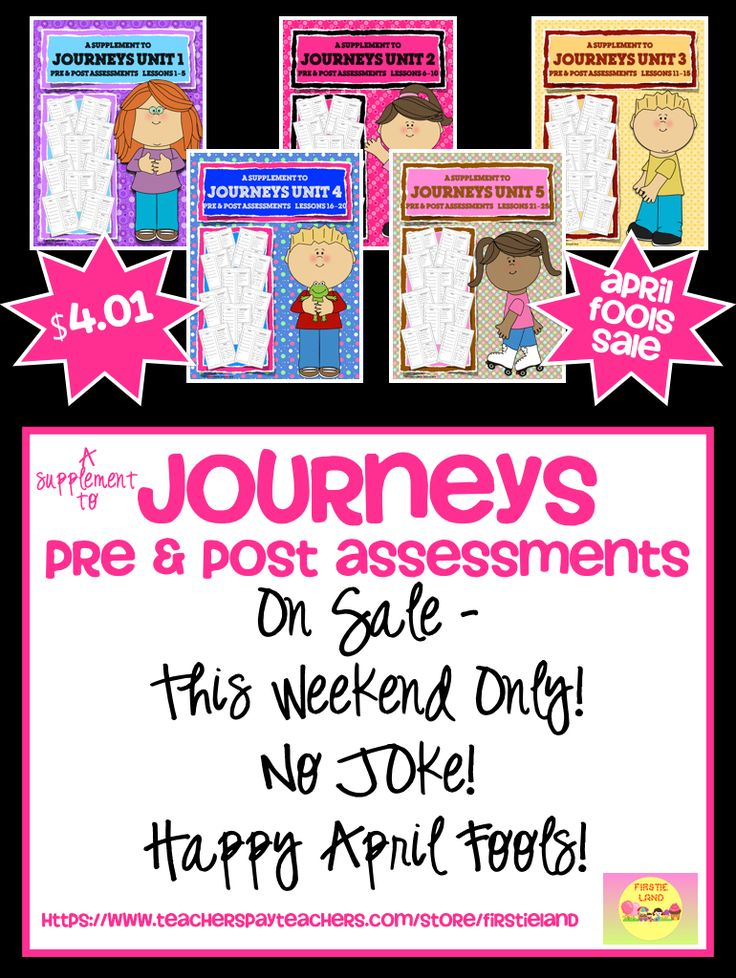 Inspired by Journeys Pre and Post Assessments for First Grade: https://www.teacherspayteachers.com/Store/Firstieland/Category/Journeys-First-Grade-251111
