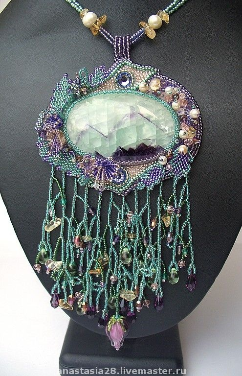 Handmade.  #beadwork  Necklaces #2dayslook #Necklaces #sasssjane  www.2dayslook.com