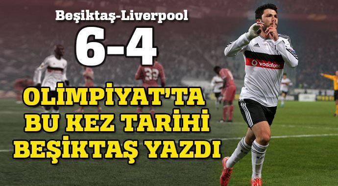 #UEFA Avrupa Ligi 2. Tur rövanş maçında ülkemizi temsil eden #Beşiktaş, penaltı atışları ile İngiliz ekibi #Liverpool'u 6-4 mağlup etti ve ismini bir üst tura yazdırdı. #çArşı #KaraKartal | Tebrikler Beşiktaş | Kadinlargecidi.com