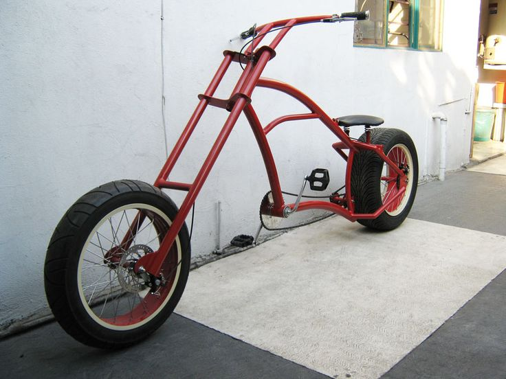 AtomicZombie Bikes, Trikes, Recumbents, Choppers, Ebikes, Velos and more: Sick chopper bikes from Mexico - AtomicZombie builders gallery