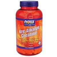 Now Foods Kre-Alkalyn Creatine - 240 Capsules 2 Pack