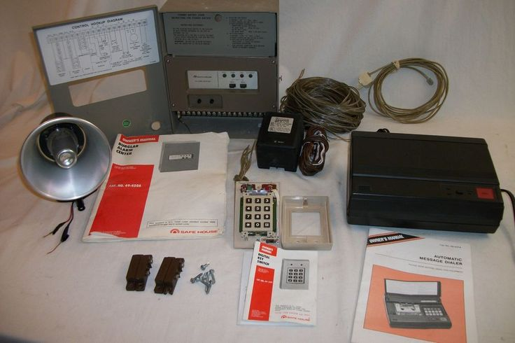 Safe House Security System used very good condition #SafeHouse