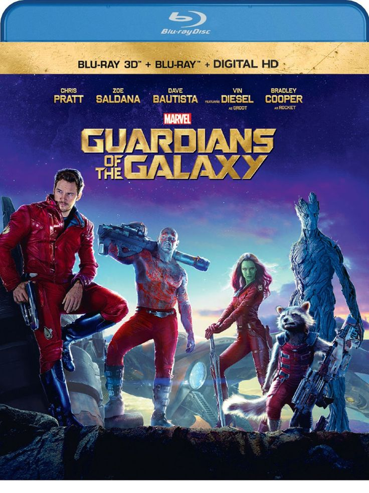 Guardians of the Galaxy (Blu-ray 3D + Blu-ray + Digital HD) Disclosure: Affiliate link