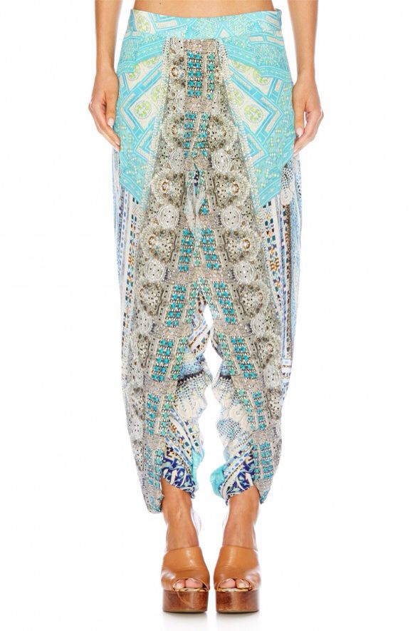 Camilla Franks Topkapi Thread gathered front harem pants