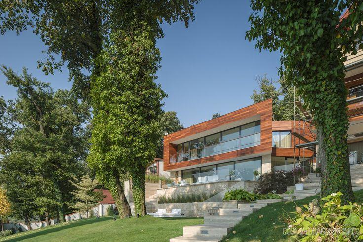 Villa snagov, romania,  Daniel Ciocazanu / dooistudio architects , foto credits Cosmin Dragomir