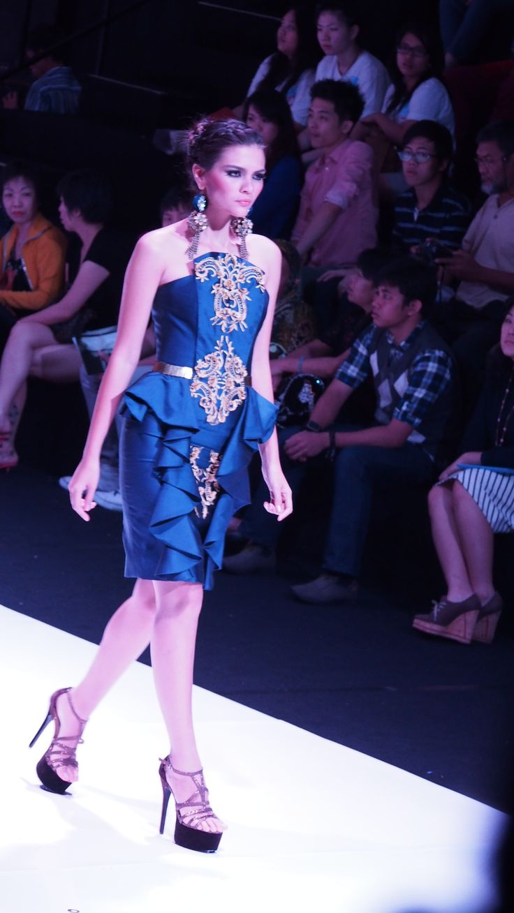 Esmod Fashion Festival'13. Le' Chevalier Formidable by Danny Satriadi