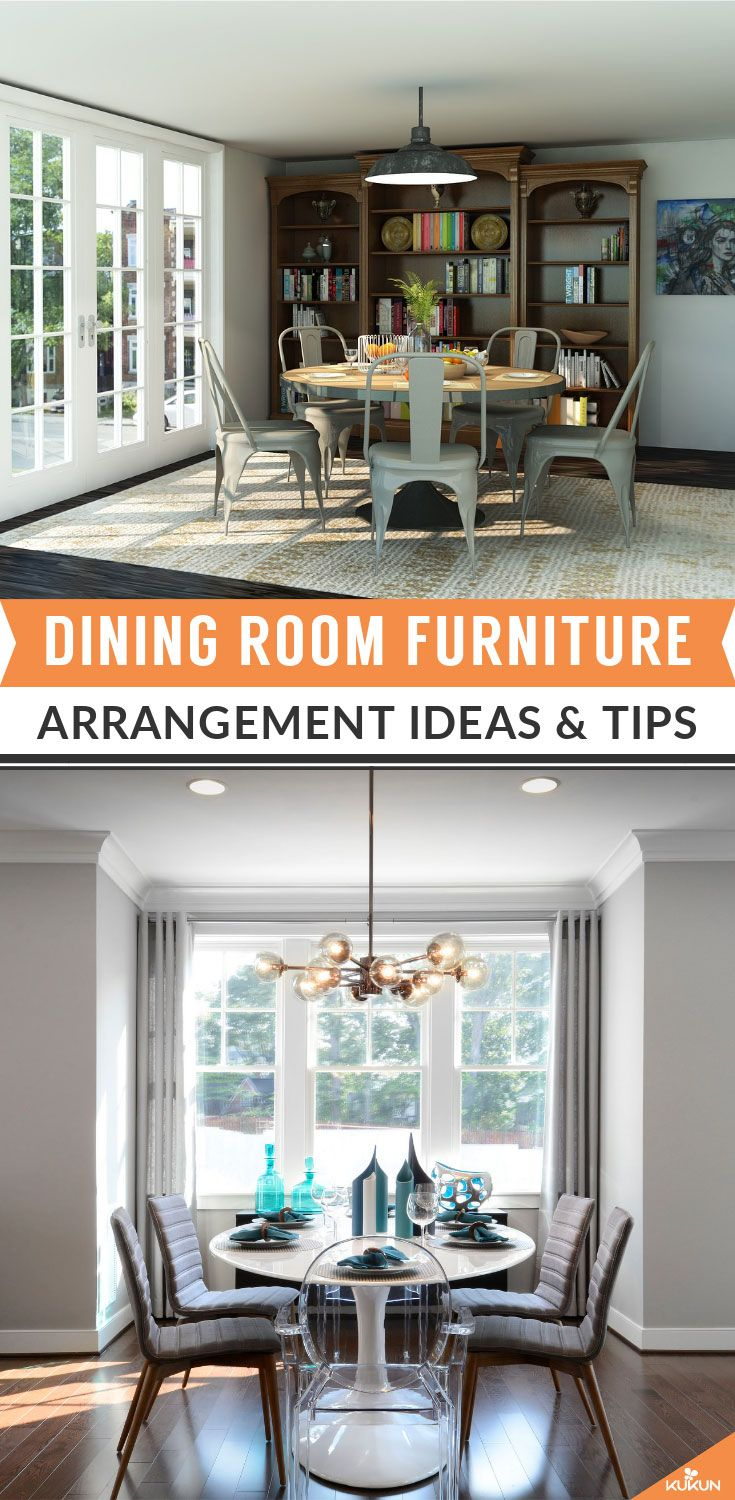 Arrange Your Dining Room Furniture Like A Design Pro With These