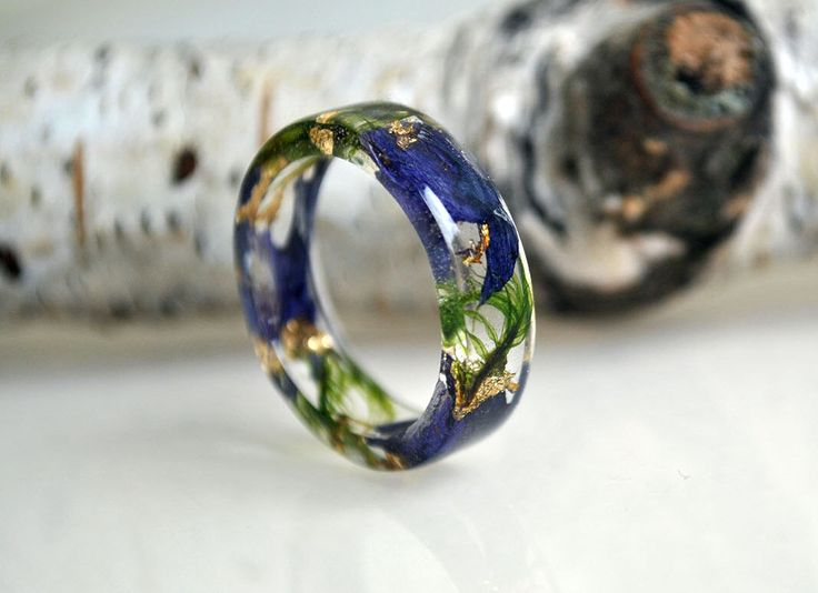 Resin Ring Engagement Ring vintage style ring  - promise ring for him - promise ring men natural moss, resin moss rings,  resin ring flower by VyTvir on Etsy https://www.etsy.com/listing/263468181/resin-ring-engagement-ring-vintage-style