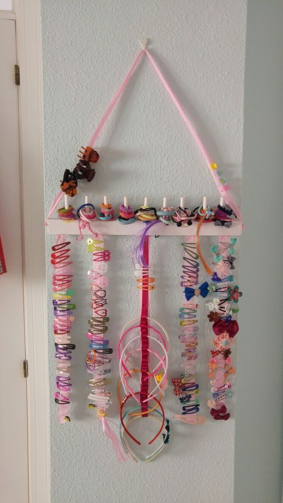 Haarspange Organizer – Baby Room Decor & Ideen & DIY