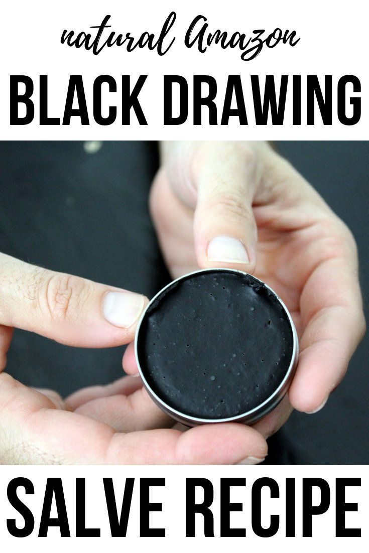 Amazon Black Salve Recipe With Bacuri Butter Buriti Oil Black Clay Salve Recipes Drawing Salve Black Drawing Salve