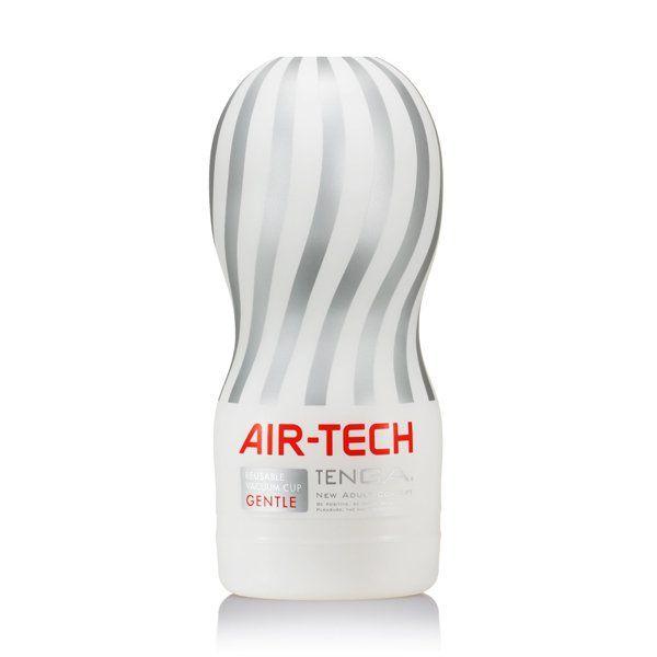 Tenga - Air-Tech Reusable Vacuum Cup (gentle) - Masturbatory   Poznaj zapierające dech w piersiach wrażenia, jakie oferuje Tenga Air-Tech! Specjalnie zaprojektowana struktura Airflow, uformowana w postaci spiralnych korytarzy wewnątrz tego najwyższej jakości masturbatora pozwala odczuć niesamowicie intensywne uczucie ssania, które może być kontrolowane za pomocą kciuka.   Dostępny na www.tabu24.pl