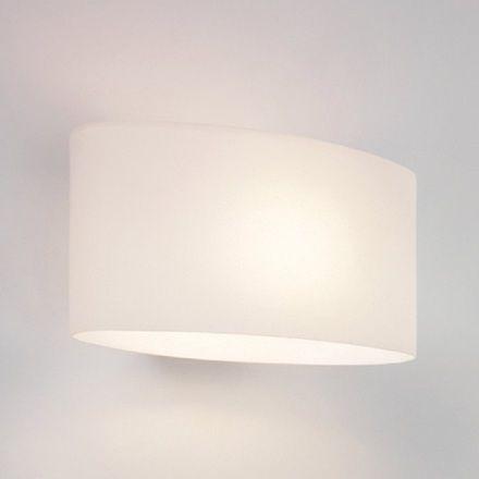 0472 Tokyo Modern White Glass Wall Uplighter Light from Lights 4 Living