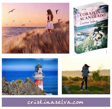 Corazón de acantilado, novela romántica contemporánea de Cristina Selva. Más en cristinaselva.com
