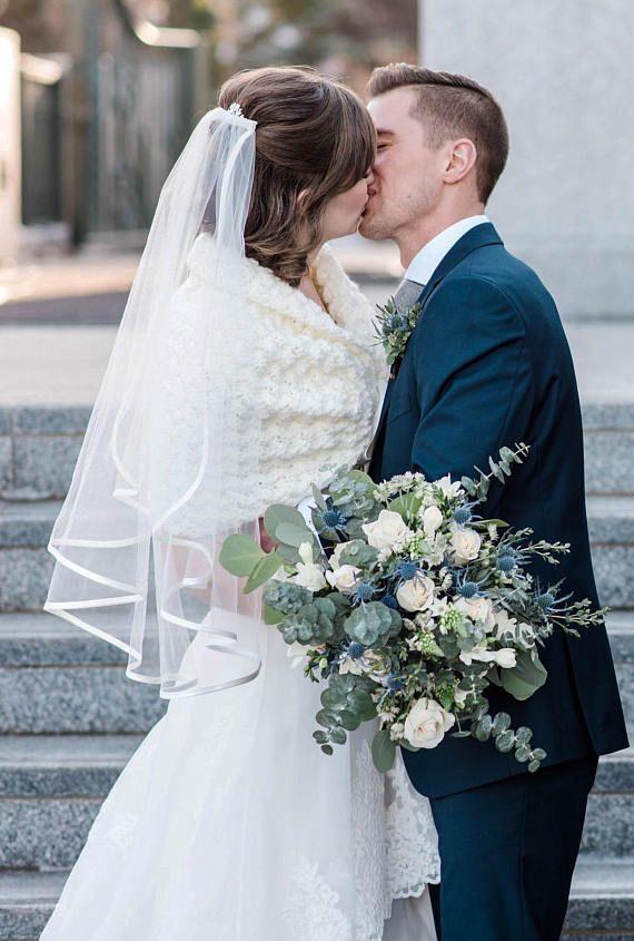 Ivory Bridal Shawl Wedding Wrap Bridal Cover Up Wedding