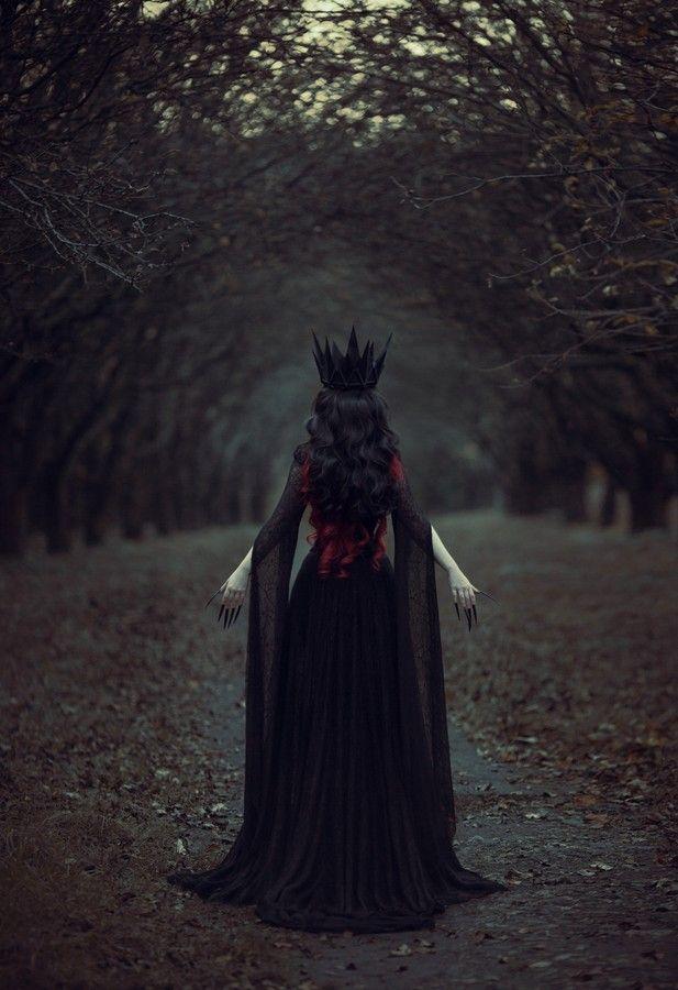 Maryna Khomenko - Fashion Photography - Disney Villains - Maleficent Concept Ideas