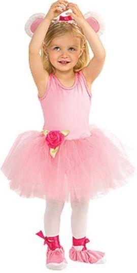 Kjole, pandebånd og balletsko