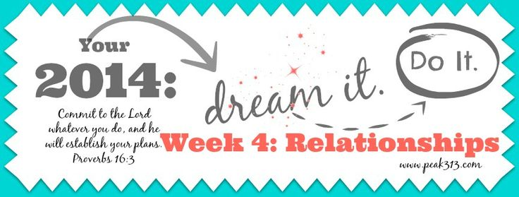 """Your 2014 """"Dream it. Do it."""" Vision Board: Week 4 (Relationships) 
