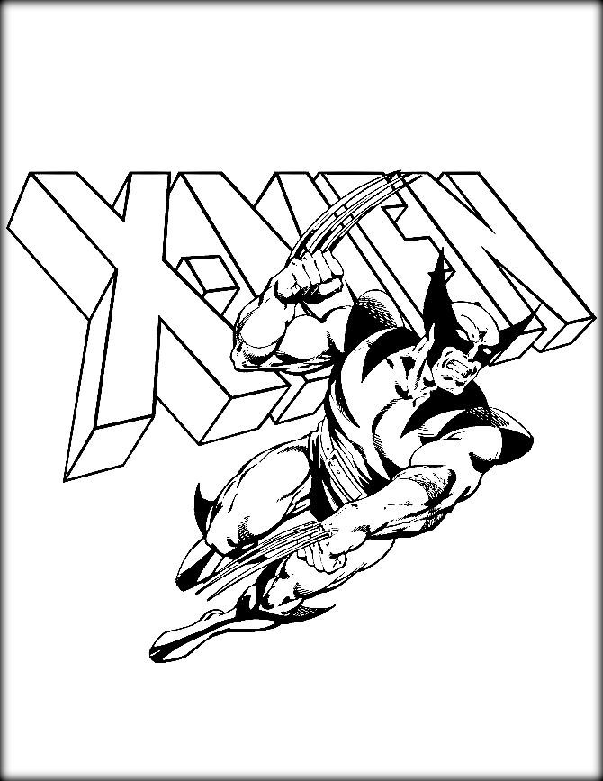 X Men Coloring Pages Cartoon Coloring Pages Superhero Coloring Pages Superhero Coloring