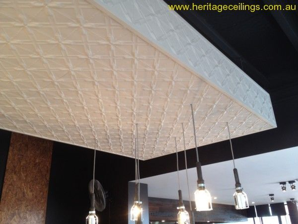 This is one of the Grill'd restaurants in Perth. The Lattice design was used on the restaurant ceiling.