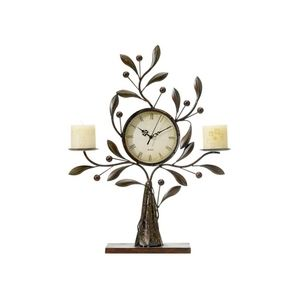 Clock/Candle Holder -