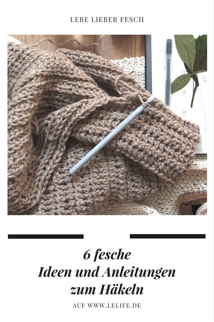 Die 66 besten Ideen zu Fesche Häkel Ideen - Crochet Ideas & Crafts ...