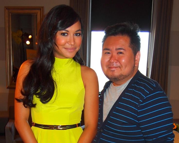 Naya Rivera and me.