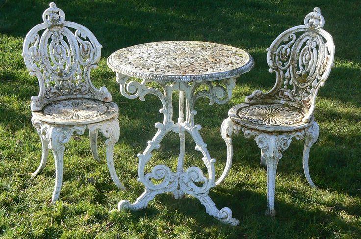 victorian gardens | ... garden antiques -> benches and garden furniture -> victorian garden